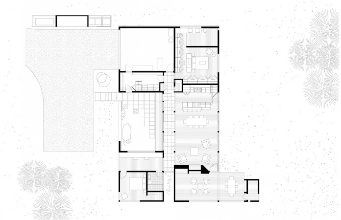 Small-Courtyard-House-on-White-River-by-Robert-Hutchison-Architect-20