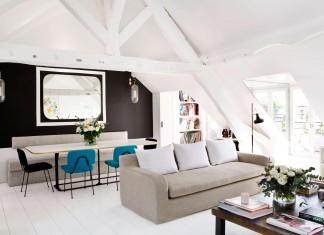 Stylish Duplex Apartment in Paris by Sarah Lavoine