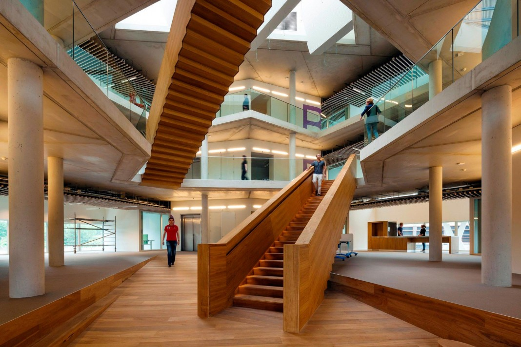 Tetra Office Building for the Research Institute Deltares by Jeanne Dekkers Architectuur