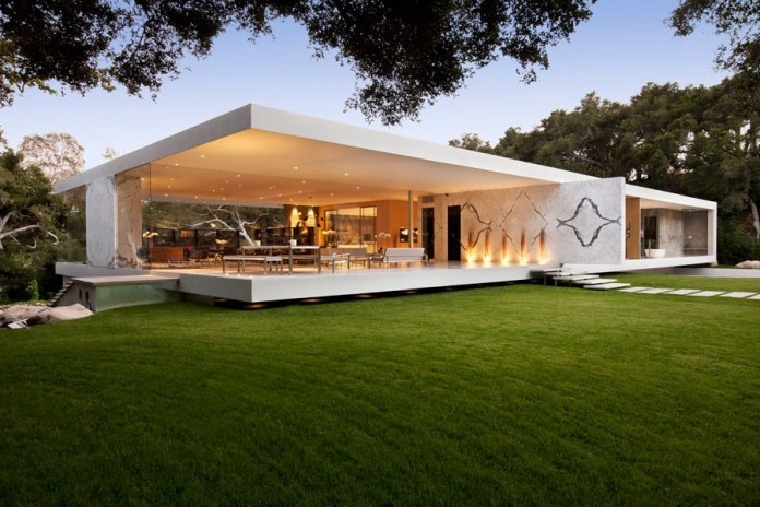 the top of the most beautiful modern houses ever built