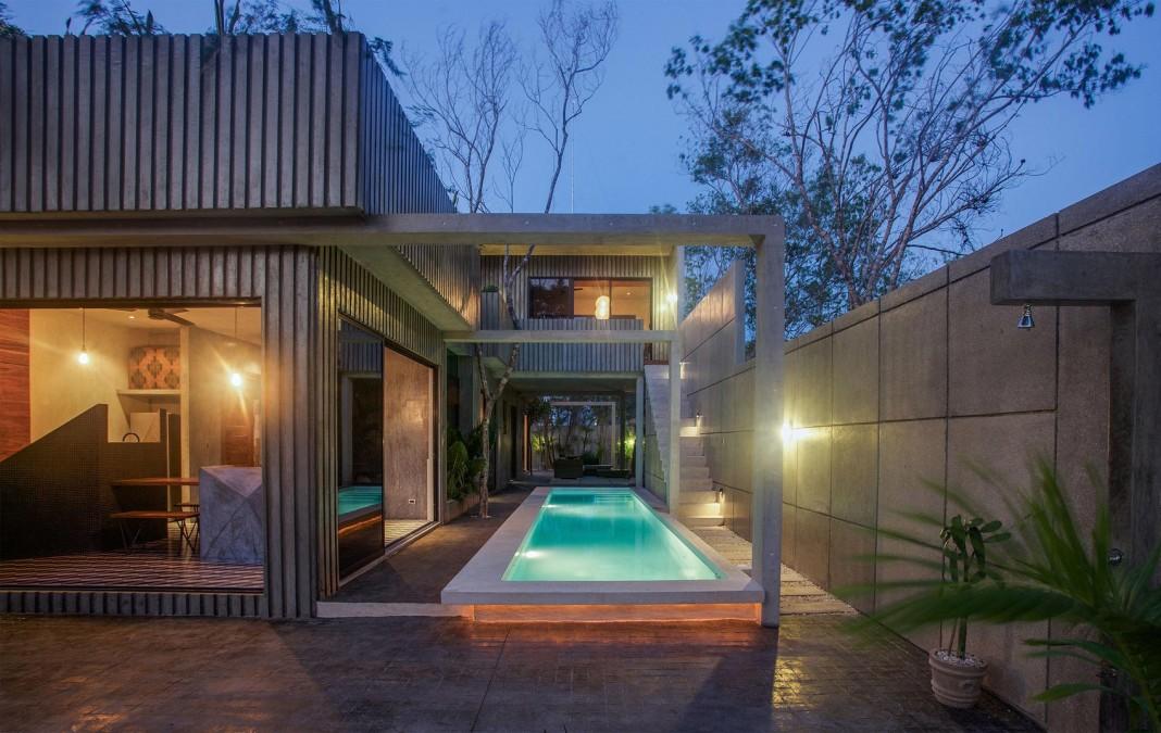 Tropical Caribbean T House by Studio Arquitectos
