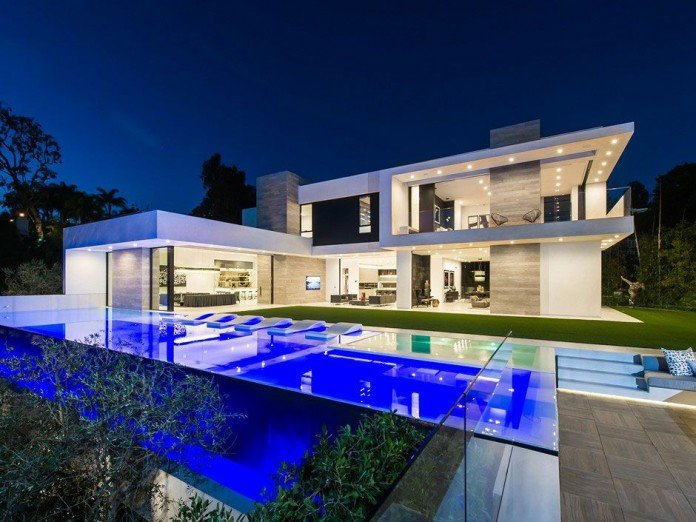 Ultramodern beverly grove residence by bo shi architects