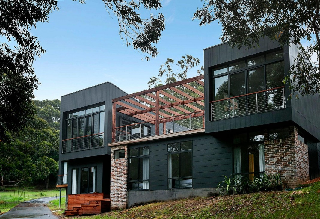 Contemporary pavilion house in buli new south wales for Pavillion home designs australia