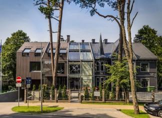 Erg 6 low-rise Apartment Building near the seaside by Arhitekty Birojs MG Architekti