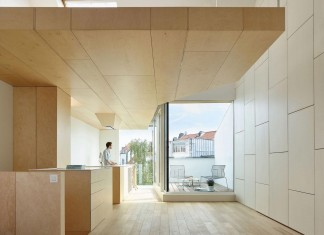 Home in Schaerbeek, a renovation of a Brussels typical terraced-house by Martens/Brunet Architects