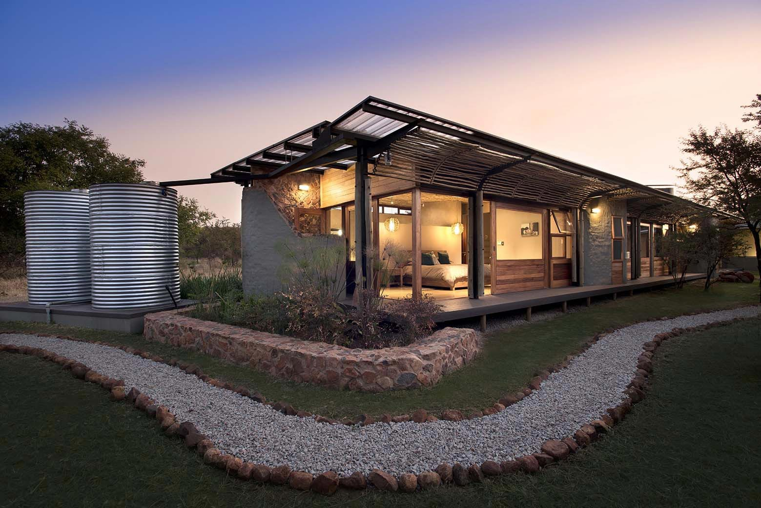 House Mouton In A Bushveld Estate In Leeuwfontein South