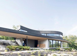 Into the woods La Héronnière Residence in Wentworth by Alain Carle Architecte
