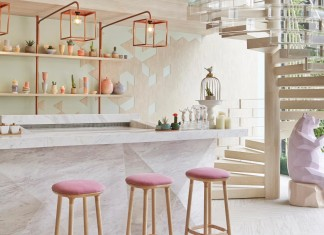 SHUGAA dessert bar with Predominant Sugar Elements by party/space/design