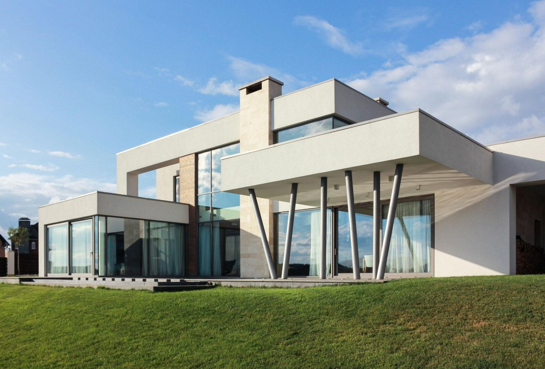 The House on a Hill near Kiev by Kupinskiy & Partners