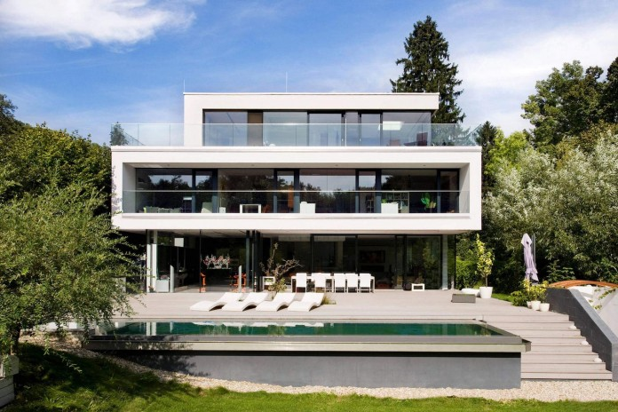 Wunschhaus Architektur Designed A Minimalist House In Hinterbruhl  ...