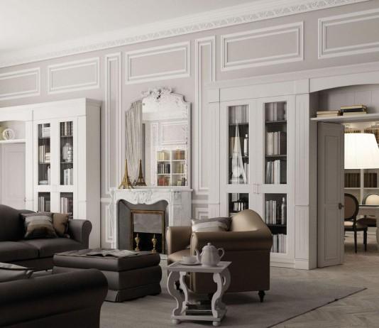 Chic Classic Apartment in Paris by Minacciolo