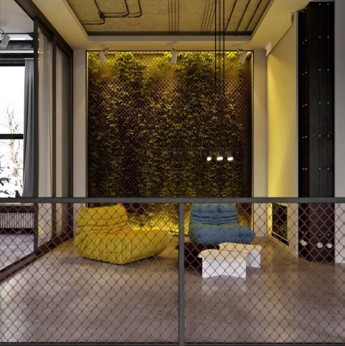 Loft Style industrial loft style in kievruslan kovalchuk - caandesign