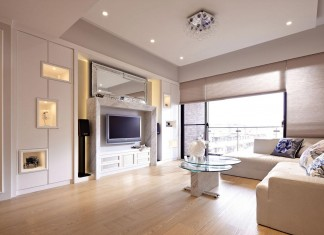 Lover of White Apartment in Taipei City by Studio Alfonso Ideas