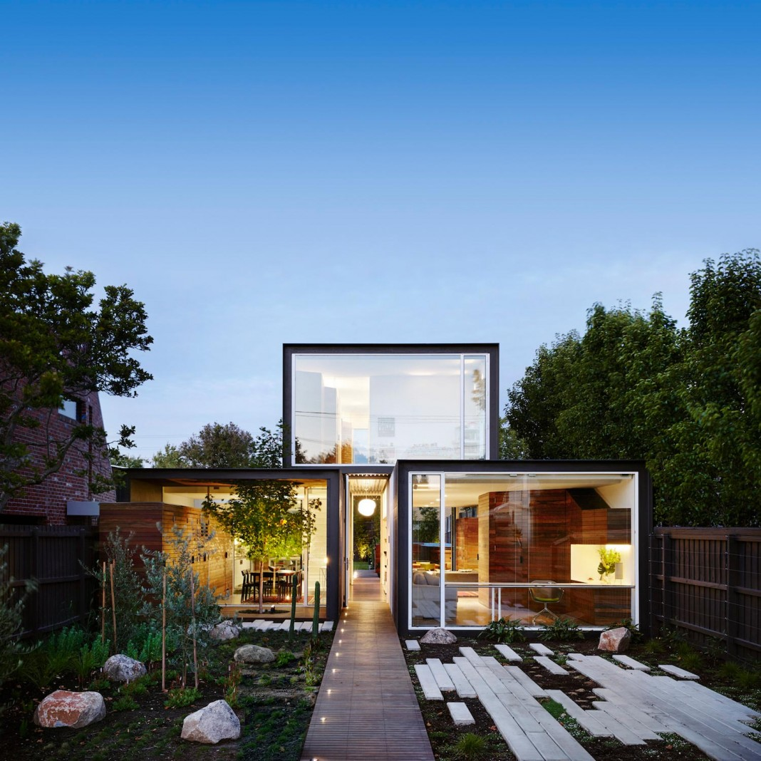 Modern that home in melbourne by austin maynard architects for Modern house design melbourne