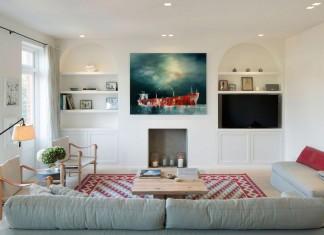 Biddulph Mansions in Maida Vale, London by Ardesia Design