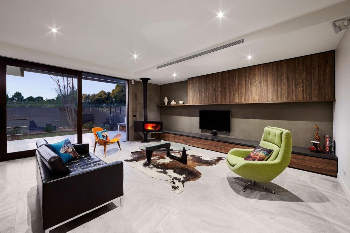 Blake Residence in Caulfield, Melbourne by Finney