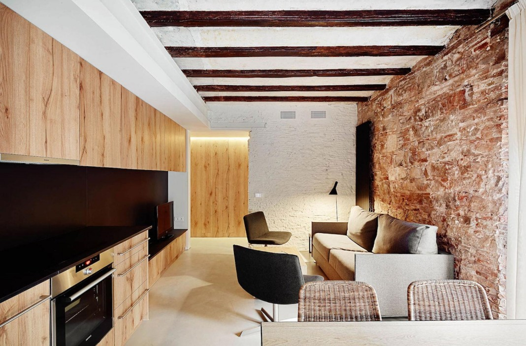 Borne Tourist Apartments in Barcelona Redesigned by Mesura