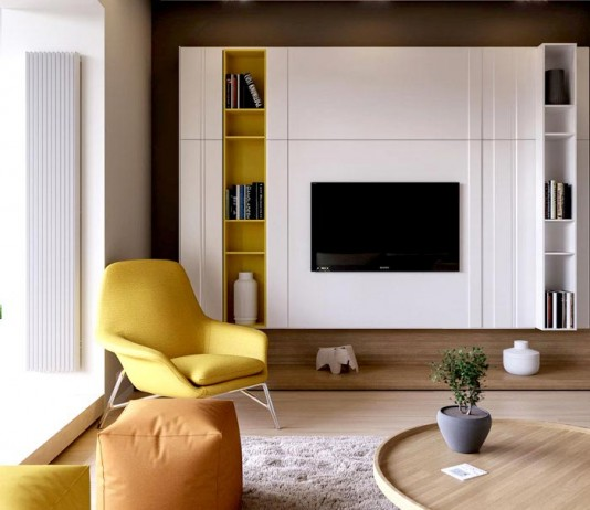 Clean, contemporary and elegant apartment in Kiev, designed by Ruslan Kovalchuk