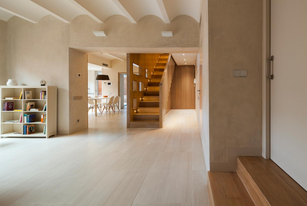 duplex apartment in gracia barcelona by zest
