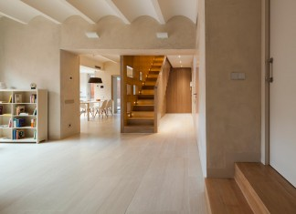 Contemporary Duplex Apartment in Gracia, Barcelona by Zest Architecture