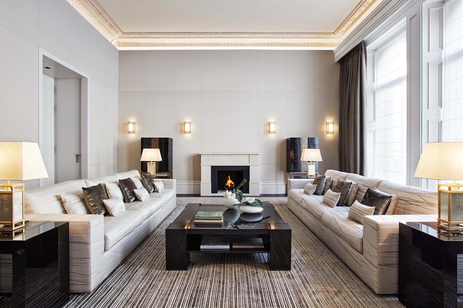 contemporary renovation of queen s gate place in london by