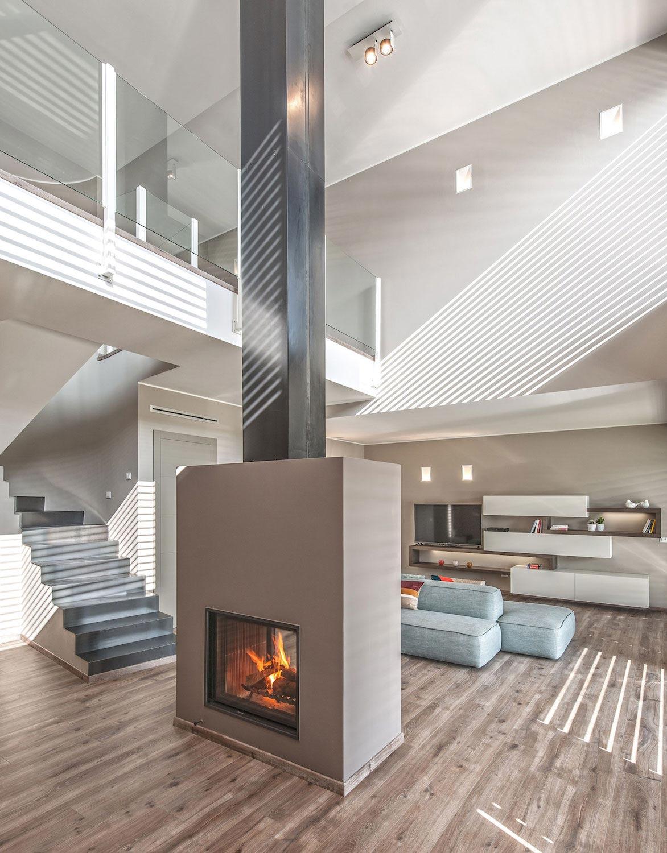 L essenziale luce modern villa in brescia by bp - Interior design brescia ...