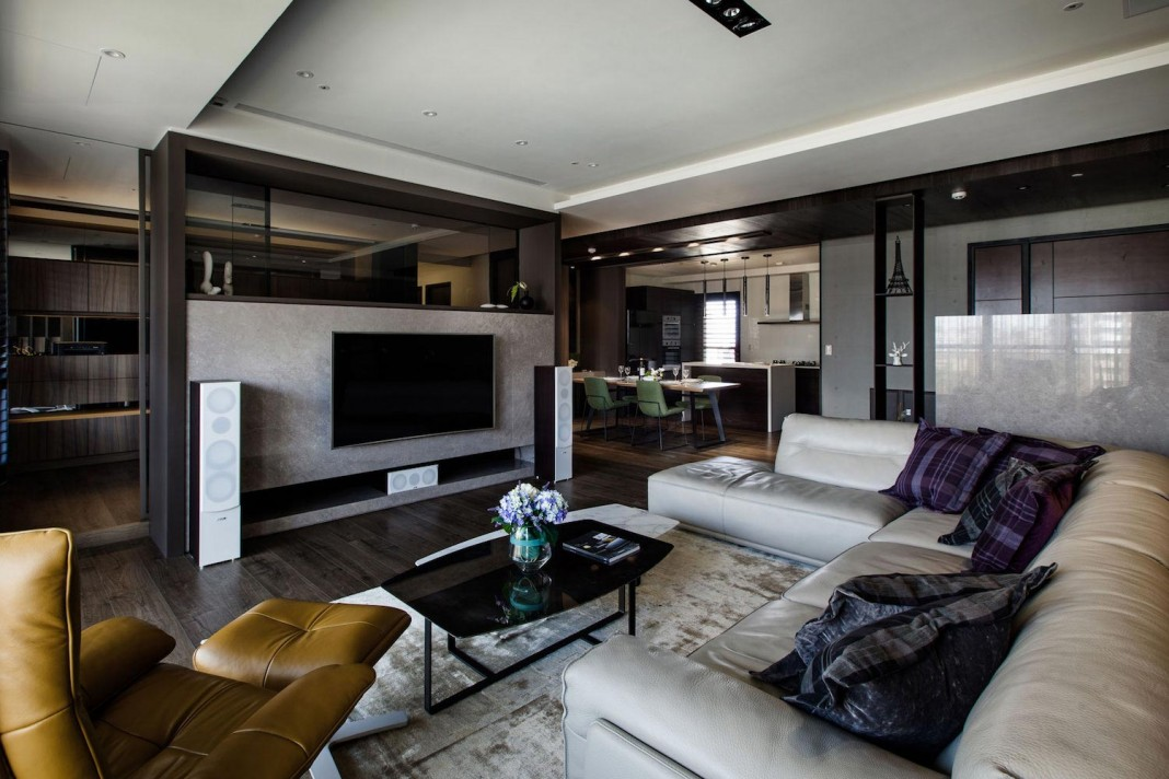 Lin S Modern Apartment In Kaohsiung City Taiwan Designed By Pmd