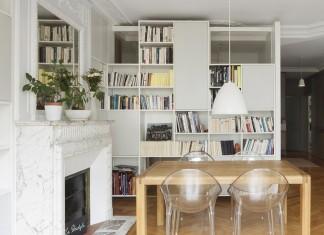 Malo & Pol Haussmannian Loft in Paris renovated by Batiik Studio