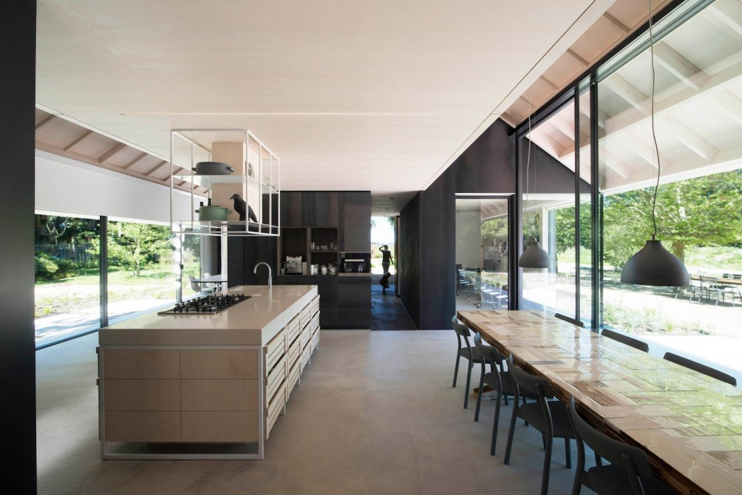 Modern Villa in Schoorl, Netherlands by Studio Prototype