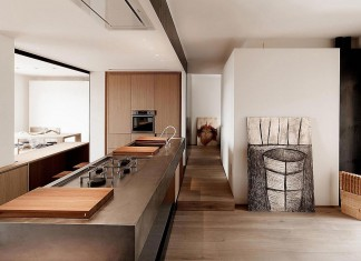 Wood and Iron Apartment in Varese, Italy designed by Luca Compri