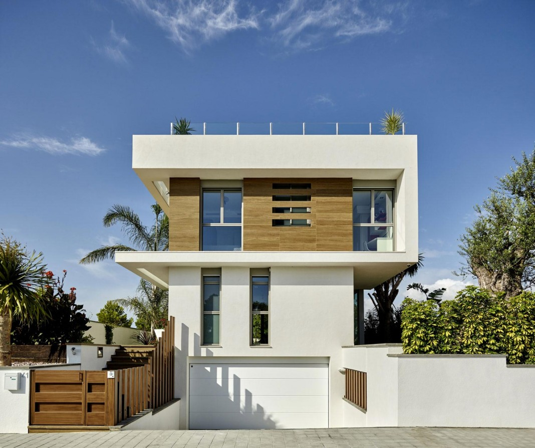 Designer Villa Close to the Sea in Tarragona, Spain by White Houses Costa Dorada