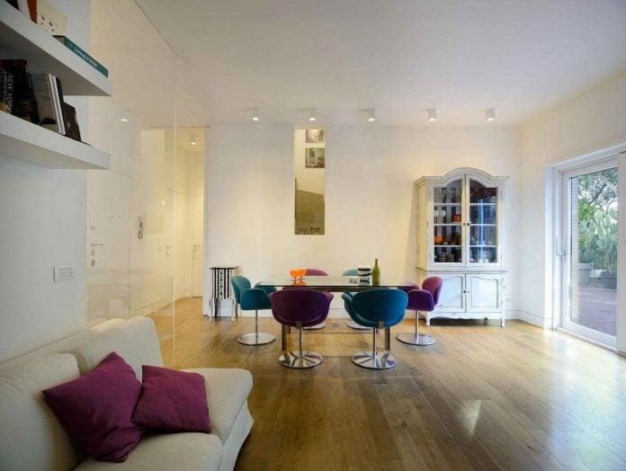 Arabella Rocca design Casa Mia: The union of two separate apartments