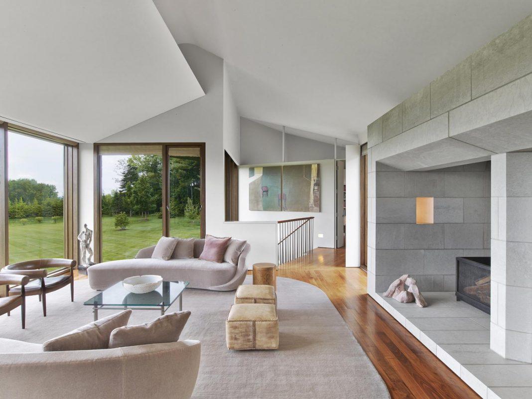 Berkshire Mountain House by Tsao & McKown Architects