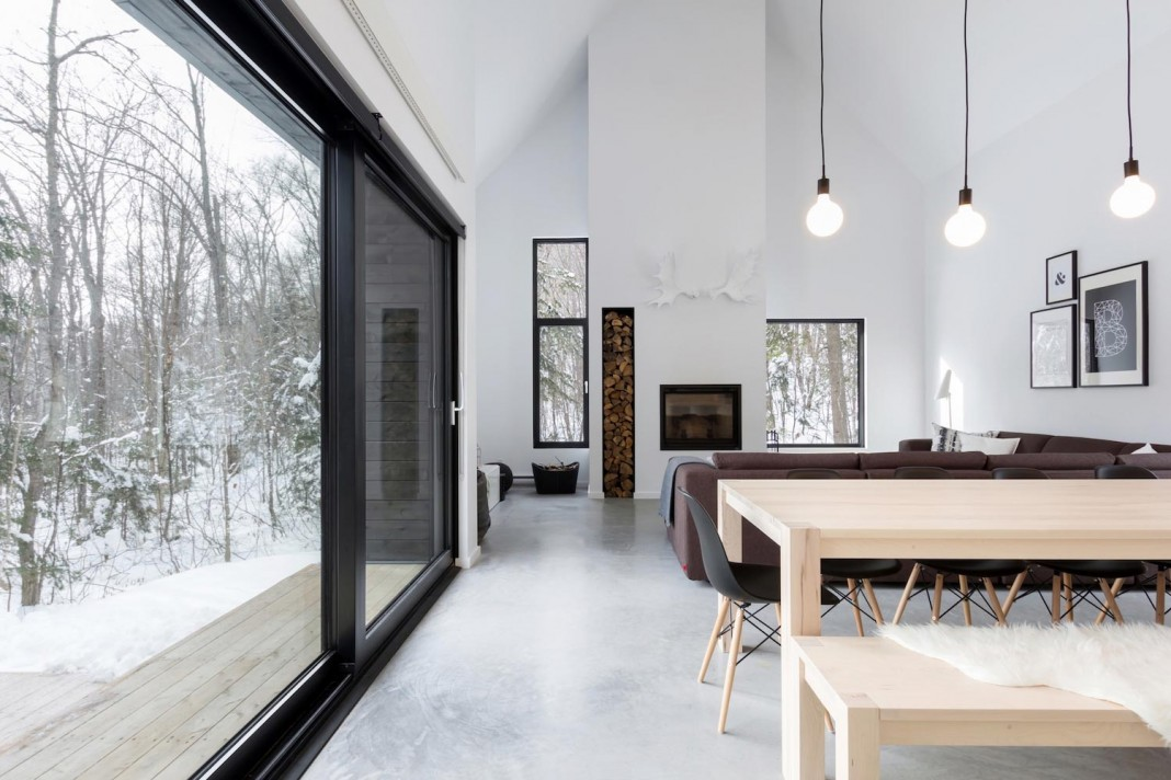 CARGO Architecture design the Villa Boreale, a charming contemporary residence located in Charlevoix
