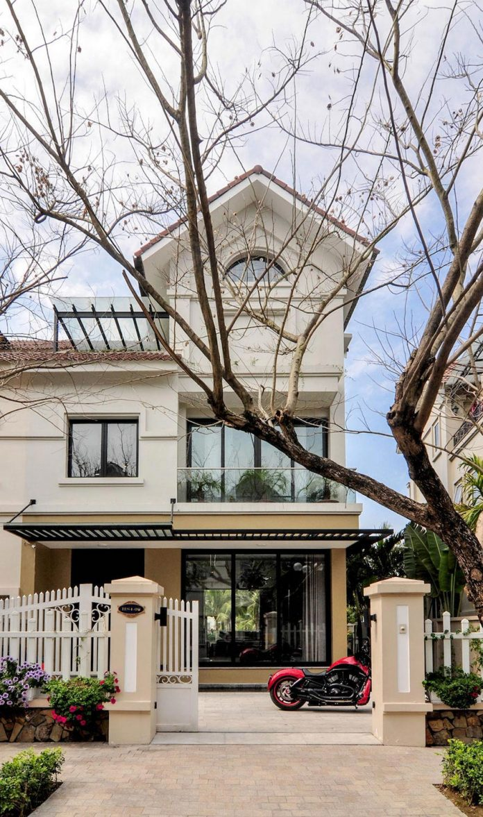 Classic Exterior And Modern Interior Of T House In Ha Noi