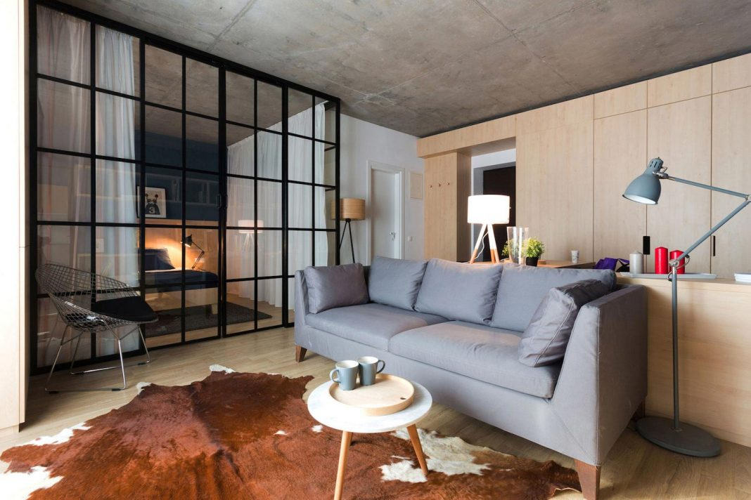 Contemporary Apartment No. 3 in Bucharest by Bogdan Ciocodeică & Diana Roşu