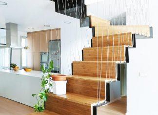 Contemporary Bright duplex in Madrid's city center by Marta Badiola + Jorge Pizarro