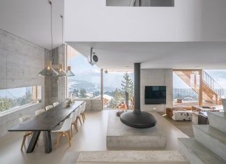 Contemporary Chalet Anzère by SeARCH