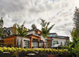 Contemporary Sandhill Crane Villa in Portland, Oregon by Garrison Hullinger Interior Design