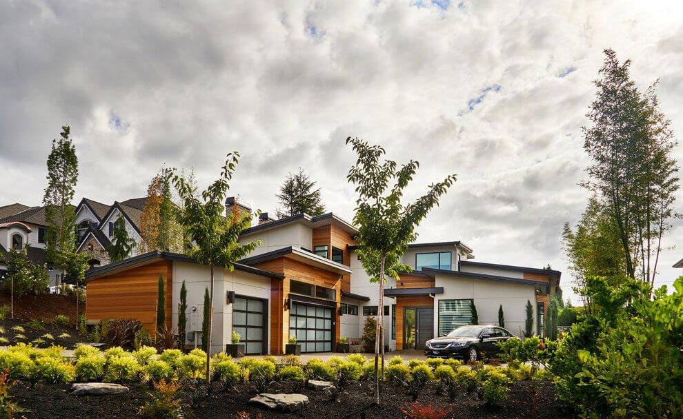 Contemporary sandhill crane villa in portland oregon by for Home designers portland oregon