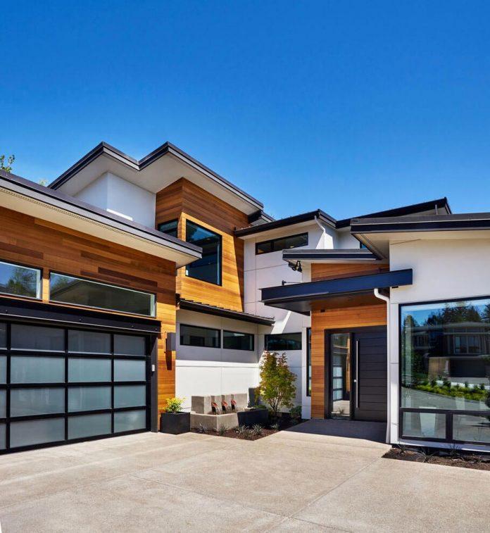 Contemporary sandhill crane villa in portland oregon by for Contemporary homes portland