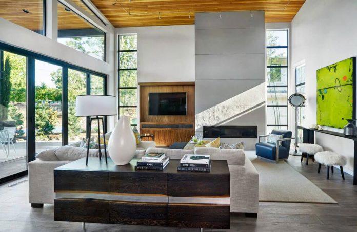 ... Contemporary Sandhill Crane Villa Portland Oregon Garrison Hullinger   ...