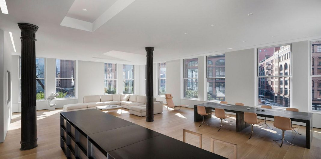 Desai Chia Architecture design in New York City a Clean and clear Photographer's Loft