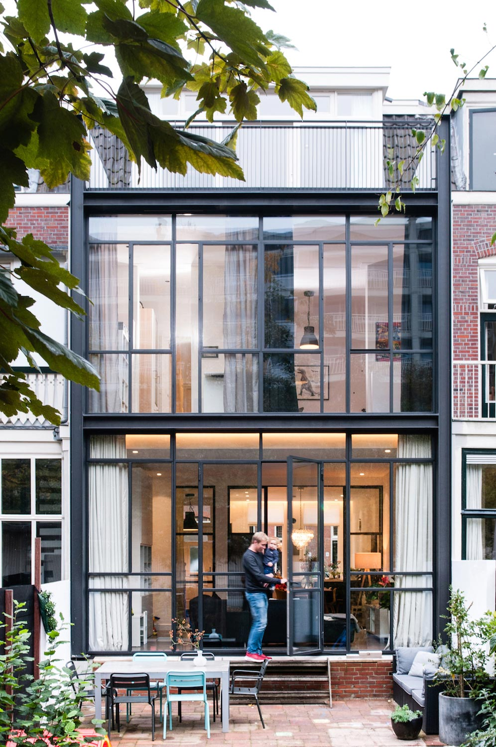Dutch Design Studio Lab S Has Renovated A 30u0027s Row House In The City Of
