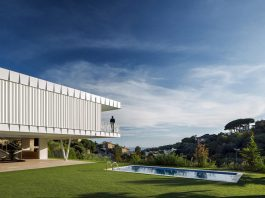 GRND82 design the EF Villa in Arenys de Mar, Barcelona with Mediterranean Sea views