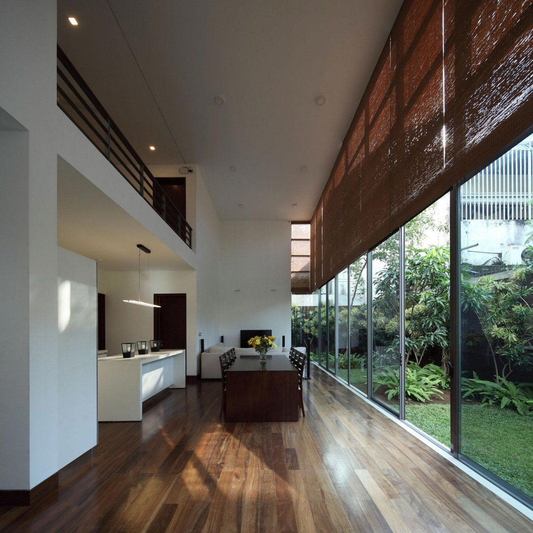 Layered Family Home In Colombo Sri Lanka By Kwa
