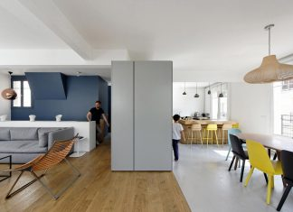 Maisonette Paris 16: two apartments into one by Equipe Eitan Hammer et Ulli Heckmann