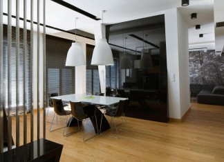 Modern and Minimalist Muranow Apartment designed by Hola Design