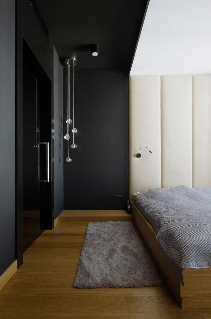 Modern and minimalist muranow apartment designed by hola for Modern minimalist apartment