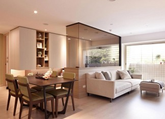 Modern Mr Lu Apartment in Taipei, Taiwan by Alfonso Ideas